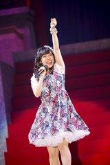 『KING SUPER LIVE 2015』に出演した佐藤聡美 photo:kamiiisaka