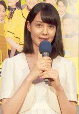 ドラマ『ある日、アヒルバス』の完成披露試写会に出席したトリンドル玲奈 (C)ORICON NewS inc.