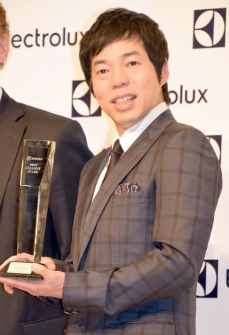 『第2回 エレクトロラックス・ベストクリーニスト賞』を受賞した今田耕司 (C)ORICON NewS inc.