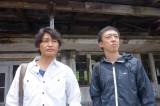 テレビ東京系新番組 『廃墟の休日』(深夜0:52)が7月10日よりスタート。第1〜3話には(左から)安田顕、野口照夫が出演する (C)「廃墟の休日」