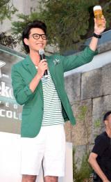 ハイネケンエクストラコールド『サマースノー』オープニングセレモニーに出席した金子昇 (C)ORICON NewS inc.