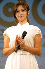 ミュージカル『100万回生きたねこ』製作発表会見に出席した深田恭子 (C)ORICON NewS inc.