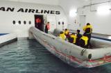 モックアップの右側には海上脱出訓練用のプールが(C)oricon ME inc.