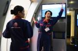 乗客がパニックに陥らないよう、迅速かつ丁寧に誘導する(C)oricon ME inc.