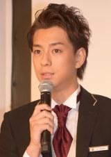 本田翼との交際報道後、初の公の場に登場した三浦翔平 (C)ORICON NewS inc.