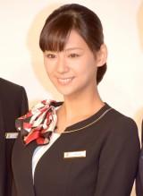 ドラマ『ホテルコンシェルジュ』の制作記者会見に出席した西内まりや (C)ORICON NewS inc.
