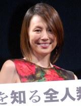 映画公開を前に心境を吐露した米倉涼子 (C)ORICON NewS inc.
