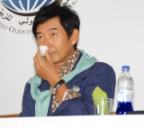 『Believe in Olive Oil』キャンペーンローンチ記者発表会に出席した石田純一(C)ORICON NewS inc.