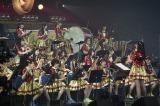吹奏楽に挑戦=『HKT48全国ツアー〜全国統一終わっとらんけん〜』ファイナルの昼公演(C)AKS