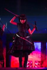 今村麻莉愛=『HKT48全国ツアー〜全国統一終わっとらんけん〜』ファイナルの夜公演(C)AKS