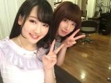 Popteenモデル・越智ゆらの(左)とMV共演した鳥居みゆきの実姉・千春さん