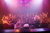 誕生日当日の3日に新木場ageHaで行われた『agePa!! feat.TOMOMI ITANO RELEASE & BIRTHDAY BASH!!』 撮影:洲脇理恵(MAXPHOTO)