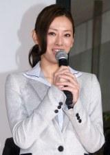 ドラマ『HERO』の記者発表会に出席したヒロイン役の北川景子 (C)ORICON NewS inc.