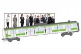 7月1日より7月末日までの1ヶ月間運行されるJR山手線『HERO』ラッピング電車