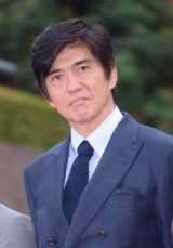 映画『HERO』(7月18日公開)完成報告会見に出席した佐藤浩市 (C)ORICON NewS inc.