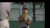 7月11日放送、テレビ朝日系『TOKYO応援宣言』で長島三奈氏が岩手県の花巻東高校野球部の「最後のノック」を取材(C)テレビ朝日