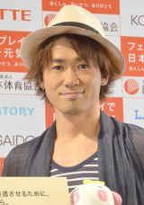 「日本にはフェアプレイがあふれてる」と力説したナオト・インティライミ (C)ORICON NewS inc.