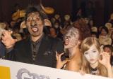 海外ドラマ『GRIMM/グリム シーズン3』プレミア試写会に出席した(左から)篠原信一、LiLiCo、ダコタ・ローズ (C)ORICON NewS inc.