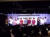 イベント最後に全員が登壇した劇団プレステージメンバー