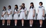 ドキュメンタリー映画『悲しみの忘れ方 Documentary of 乃木坂46』初日舞台あいさつの模様(C)ORICON NewS inc.