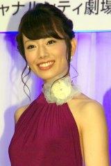 舞台『ドリアン・グレイの肖像』製作発表会に出席した舞羽美海 (C)ORICON NewS inc.