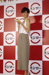女優、タレントとして活躍。一児の母でもある田丸麻紀(写真:榑林史章)