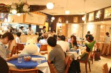 『ムーミンカフェ おもてなしごはん』(講談社/2015年7月15日発売)出版記念イベント「フィンランドナイト」の模様(13日=東京ドームシティラクーア店) (C)oricon ME inc.