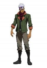 10月スタートの新作テレビアニメ『機動戦士ガンダム 鉄血のオルフェンズ』に登場するキャラクターのオルガ・イツカ(C)創通・サンライズ・MBS