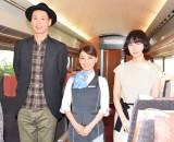 映画『ロマンス』のイベントに出席した(左から)大倉孝二、大島優子、タナダユキ監督 (C)ORICON NewS inc.