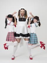 7月29日にCDデビューする「LADYBABY」(左から金子理江、レディ・ビアード、黒宮れい)