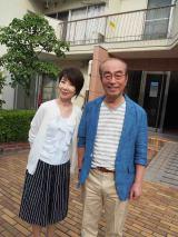 『8時だョ!全員集合』以来の共演となる志村けんと元キャンディーズの伊藤蘭(C)NHK