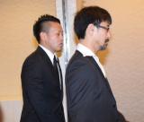 今井雅之さんの『お別れ会』に参列した宮川大輔(左) (C)ORICON NewS inc.