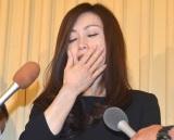 涙ながらに今井さんへの感謝の言葉を述べた酒井法子 (C)ORICON NewS inc.