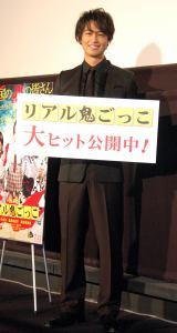 映画『リアル鬼ごっこ』舞台あいさつイベントに出席した斎藤工 (C)ORICON NewS inc.