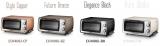 『ディスティンタコレクション オーブン&トースター』(税抜1万8000円) マットなメタリックカラー4色を展開