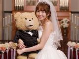 「テッドもふもふファンクラブ」の代表に就任したAKB48の小嶋陽菜