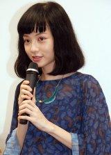 映画『共犯』公開直前トークイベントに出席したヤオ・アイニン (C)ORICON NewS inc.