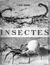 ファーブル写真集「昆虫」の原書の表紙