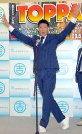 ナイナイ・矢部を「おめでフォー!!」と祝福したレイザーラモンHG (C)ORICON NewS inc.