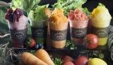 100%オーガニックのフルーツと野菜がかき氷になって登場