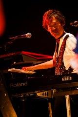 『REBECCA Preview Live』で演奏するREBECCAの土橋安騎夫(28日=東京・豊洲PIT)(C)Hajime Kamiiisaka