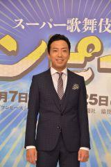 歌舞伎『ワンピース』の制作発表に出席した市川猿之助