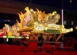 「青森ねぶた祭」前夜祭セレモニーでお披露目されたスター・ウォーズねぶた (C)ORICON NewS inc.