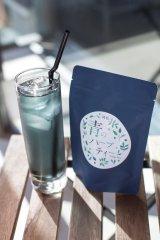 エイジングにも良いとされる藍染原料ダテ藍で作られた『青のハーブティー』