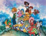 小学生の太一たち 1999年に放送開始したアニメ『デジモンアドベンチャー』ビジュアル(C)本郷あきよし・東映アニメーション