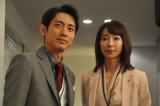 元上司で既婚者の大沢百合子(稲森いずみ)と不倫中ですが…(C)テレビ朝日