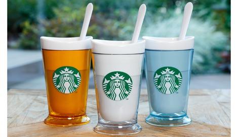 『スターバックス フローズンドリンクメーカー』(左から)イエロー、ホワイト、ライトブルー(各税別3000円)