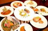 決勝大会に進んだ東急ホテルズのシェフによる独創的な料理(写真:鴇田崇)