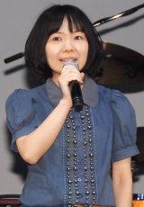 最新映画『BORUTO-NARUTO THE MOVIE-』完成披露試写会舞台あいさつに出席した菊地こころ (C)ORICON NewS inc.