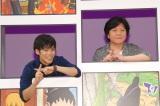 最新映画『BORUTO-NARUTO THE MOVIE-』完成披露試写会舞台あいさつに出席した(左から)小野賢章、杉山紀彰 (C)ORICON NewS inc.